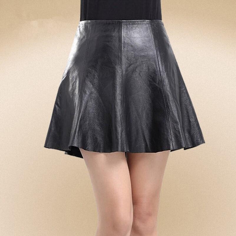 Online Get Cheap Black Leather Mini Skirt -Aliexpress.com ...