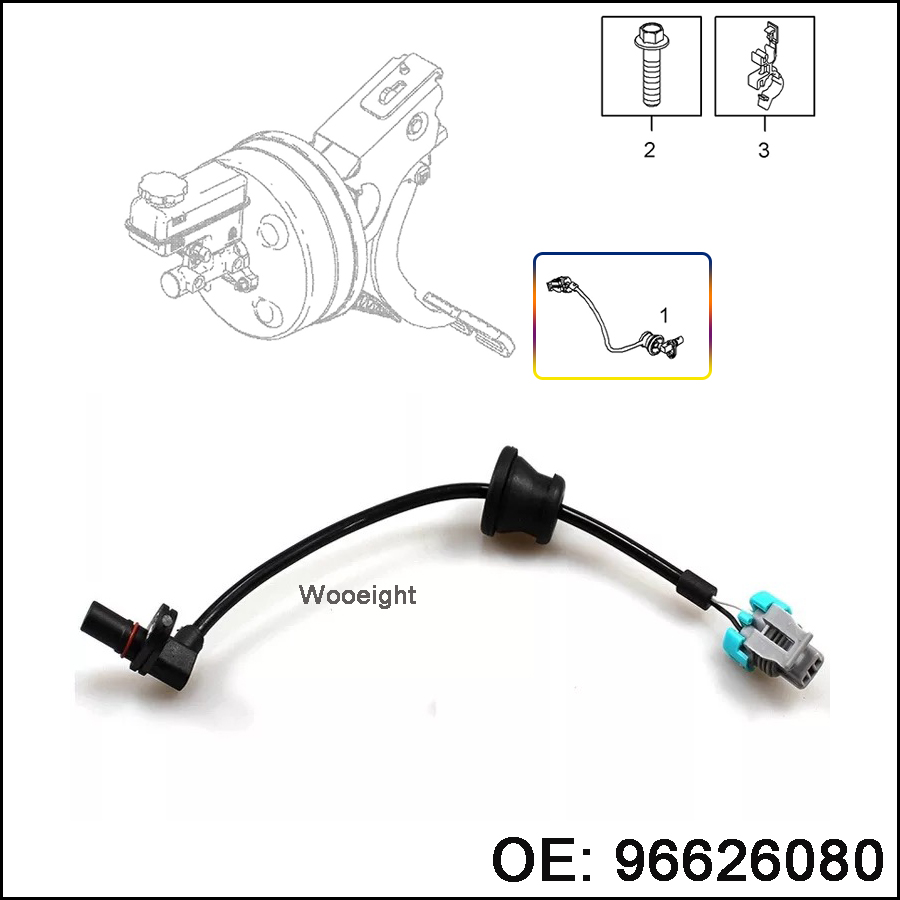 ABS Wheel Speed Sensor Rear Right Left For Chevrolet