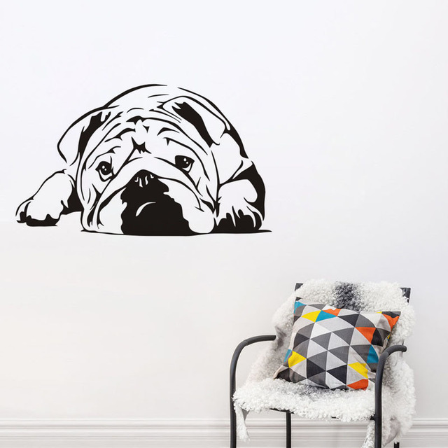 Aliexpresscom Buy CaCar New Design Funny Cute Elf Dog Wall - Vinyl stickers designaliexpresscombuy eyes new design vinyl wall stickers eye wall