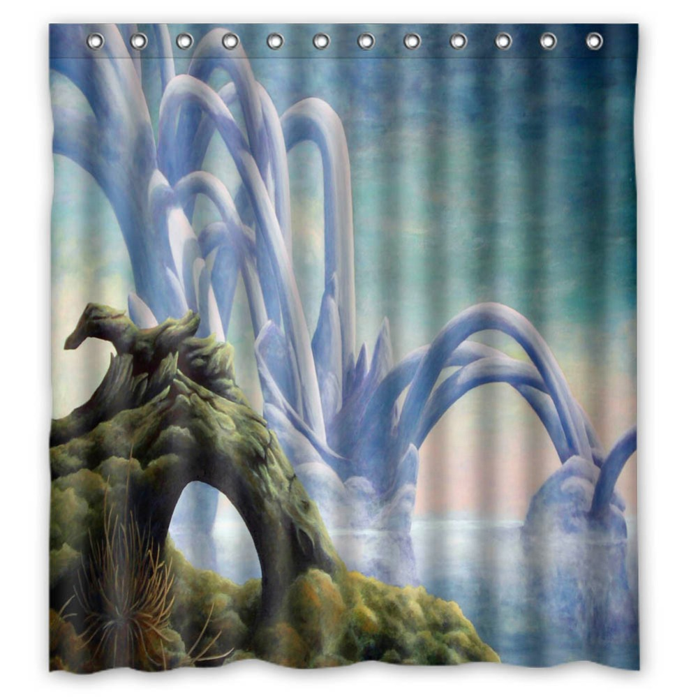 jordan Bright Vixm Home michael Fabric Shower Curtains Mildew Waterproof Curtains For Bathroom With Hooks 66x72 Inch
