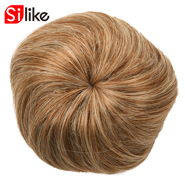 Silike Synthetic Hair Bun Extensions Donut Postiche Cheveux Chignon