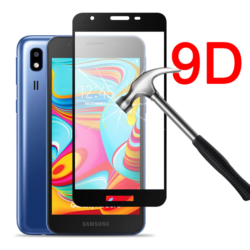 9D Tempered Glass for Samsung A2 Core 9H screen Protector for samsung Galaxy A2 Core a2core A260F A260G 5.0 Protective Glas film(China)