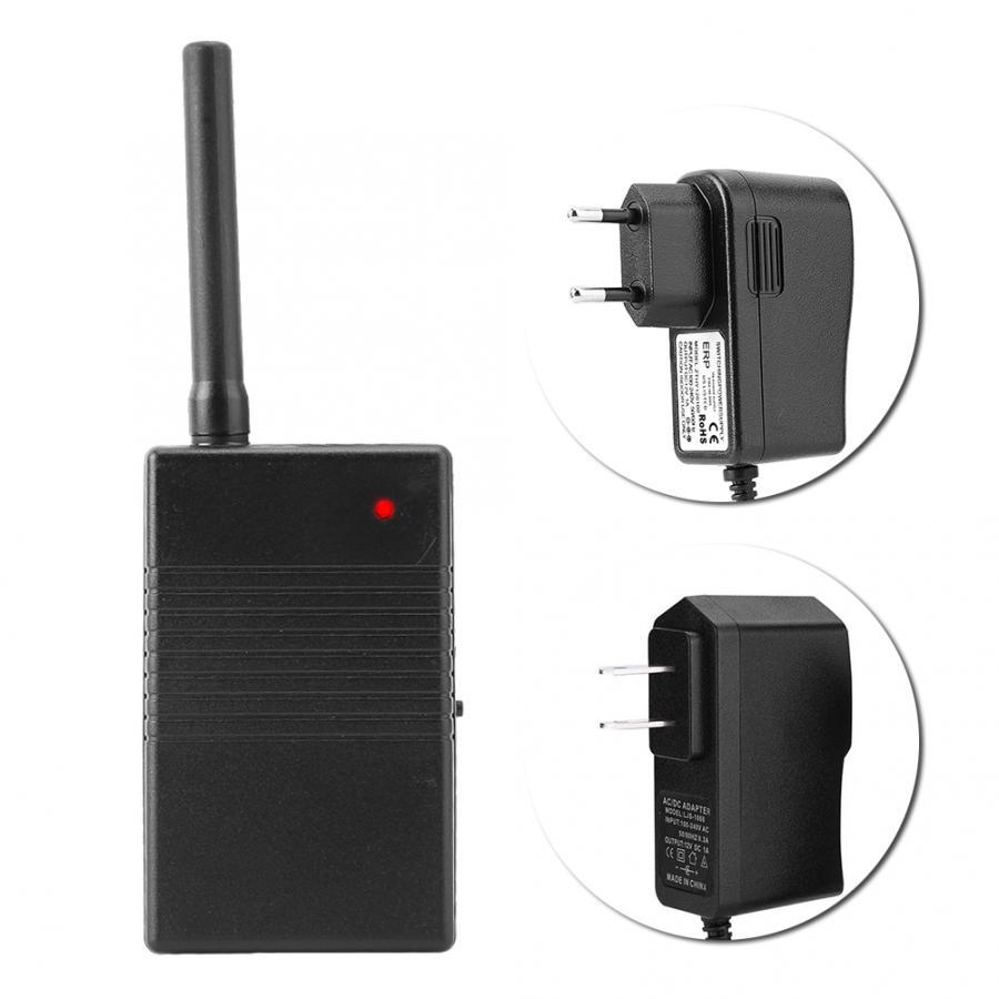 Amplificador sem fio do repetidor do sinal de 433 mhz para o impulsionador sem fio do sinal do sensor sem fio do detector do sistema de alarme