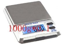 1000กรัมx 0.1กรัมดิจิตอลP Ocketชั่งน้ำหนักเพชรเครื่องประดับเครื่องชั่งอิเล็กทรอนิกส์0.1กรัมบุหรี่กรณีขายร้อน