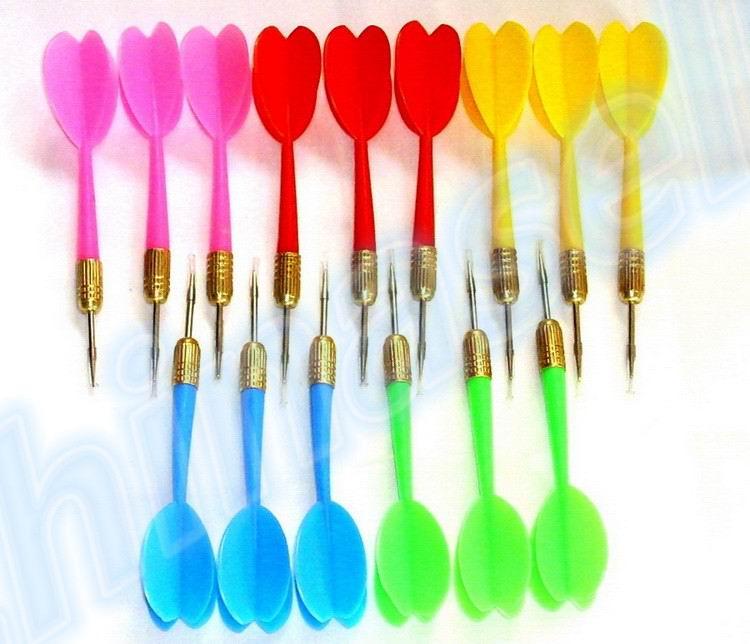 3pcs Metal Siamese Darts Needle Dart Board Dartboard Needle