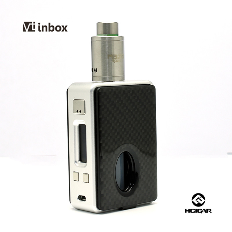 Original HCIgar VT inbox 75w Mod HCigar VT inbox Squonker mod with Evolv DN75 chip BF mod Squonk mod rubber dust cover electric hammer ash bowl dustproof device impact drill power tool utility accessories best price