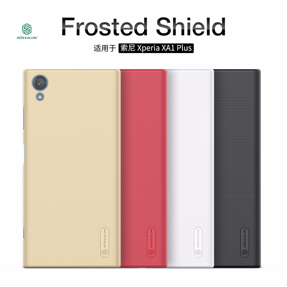 Buy Nillkin Hard Back Cover For Sony Xperia XA1 Plus Case Protective For Sony XA1 Plus Phone Cases Protective Cover for only 10.27 USD