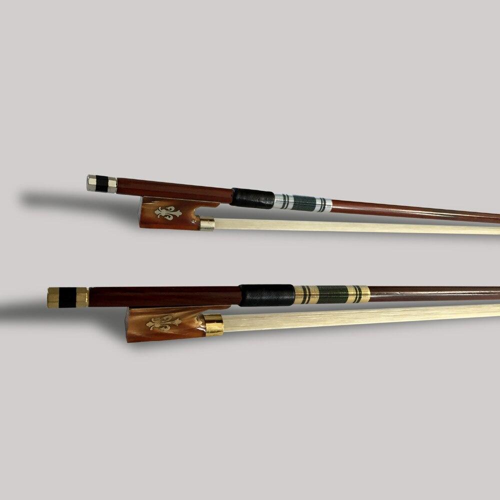 Prachtige strijkstrik 4/4 Brazilie Houten ebbenhouten kikker - Muziekinstrumenten - Foto 4