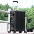 Nueva Moda, Aluminio Y Aleaciones de Magnesio, Maletas con ruedas, Spinner, 20 Pulgadas Caja de Embarque, 24 28 Pulgadas Bolsa de Viaje
