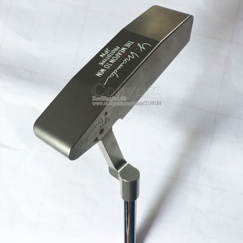New Men Golf Clubs Cooyute GP PLATINUM T Golf Putter 34 Inch Clubs Putter Dynamic Gold R300 Steel Golf Shaft Free Shipping