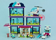 NEW Heartlake Hospital Girl toys fit  friends figures city model Building Blocks Bricks toy girl kids gifts