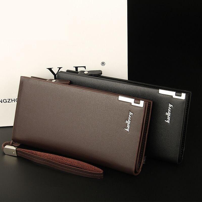 Brand men wallets dollar price purse pu leather wallet card holder luxury designer clutch business wallet high quality men vintage wallet pu leather dollar