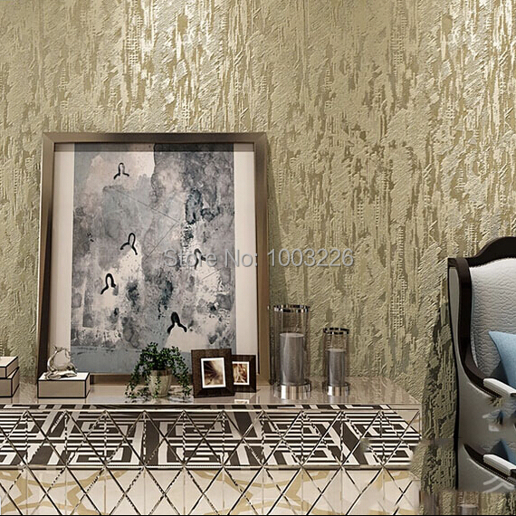 Wallpaper For Homes Wall Covering : D wallpaper roll flocking abstract embosse modern