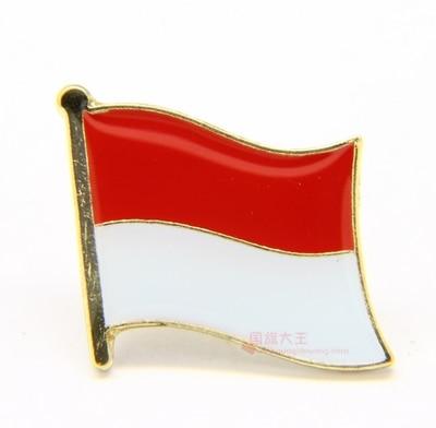 Indonesia Flag Lapel Pin