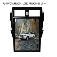16 Tesla Android Fit TOYOTA PRADO / LC150 / PRADO 150 2014 2015 2016 2017 Car DVD Player Navigation GPS Radio