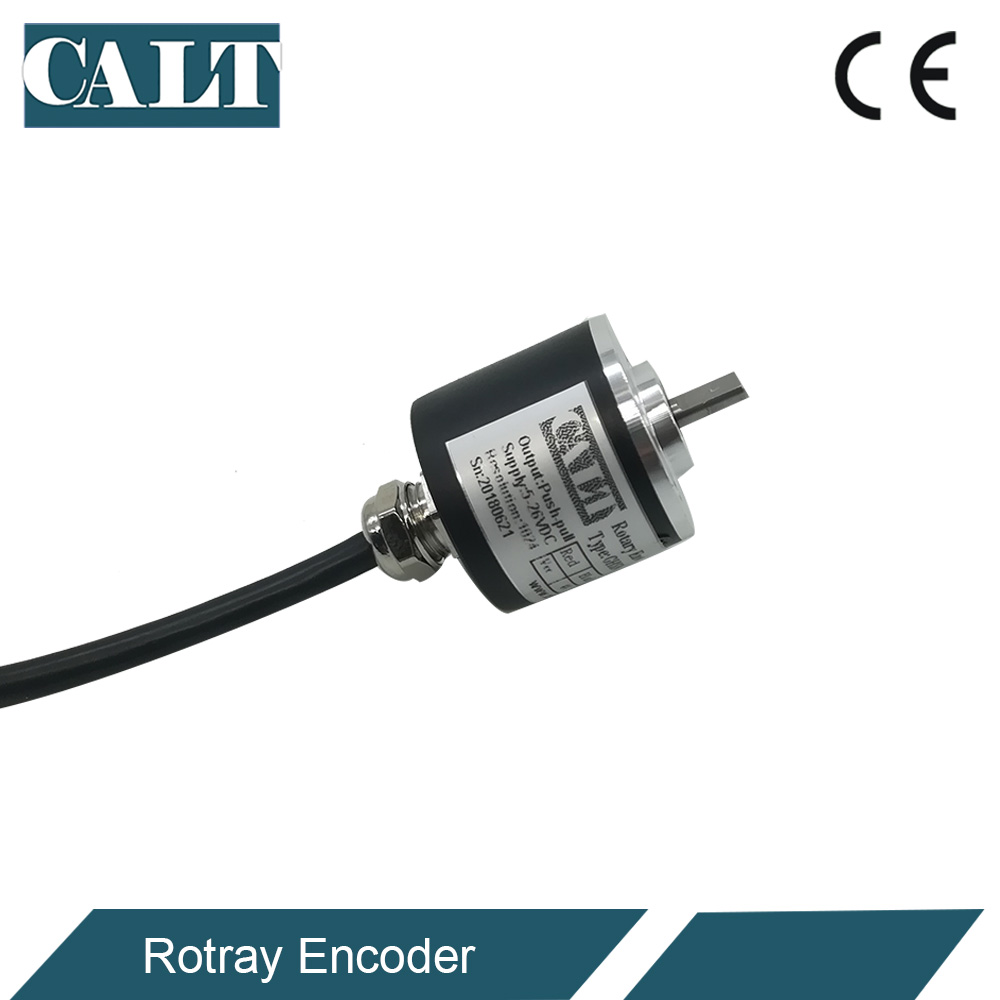 US $46 0 |GHS30 micro incremental rotary encoder 1000 500 CPR pulse angle  speed sensors NPN or Voltage A B Z output-in Level Measuring Instruments