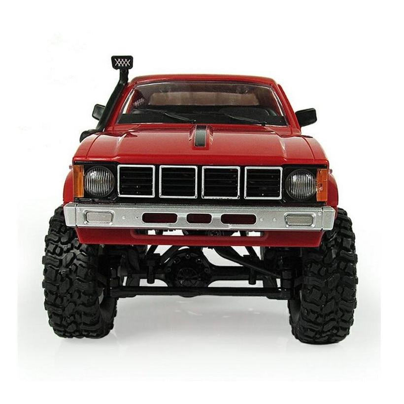 WPL C24 Diy RC Car Kit Remote Control Wltoys 1:16 RC Crawler 4WD Off-Road Buggy Remote Car Uzaktan Kumandali Araba Kids Toys gzlozone diy kit njw1194 remote volume conrol kit treble