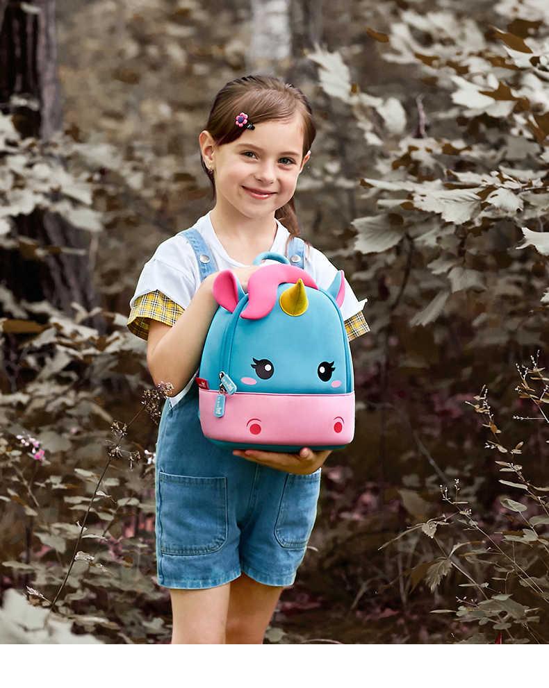 047f71788b1f ... schoolbag kids bag 2019 Children School Backpack mochila bebe unicornio  Baby Girls Kindergarten Kids School Bags ...