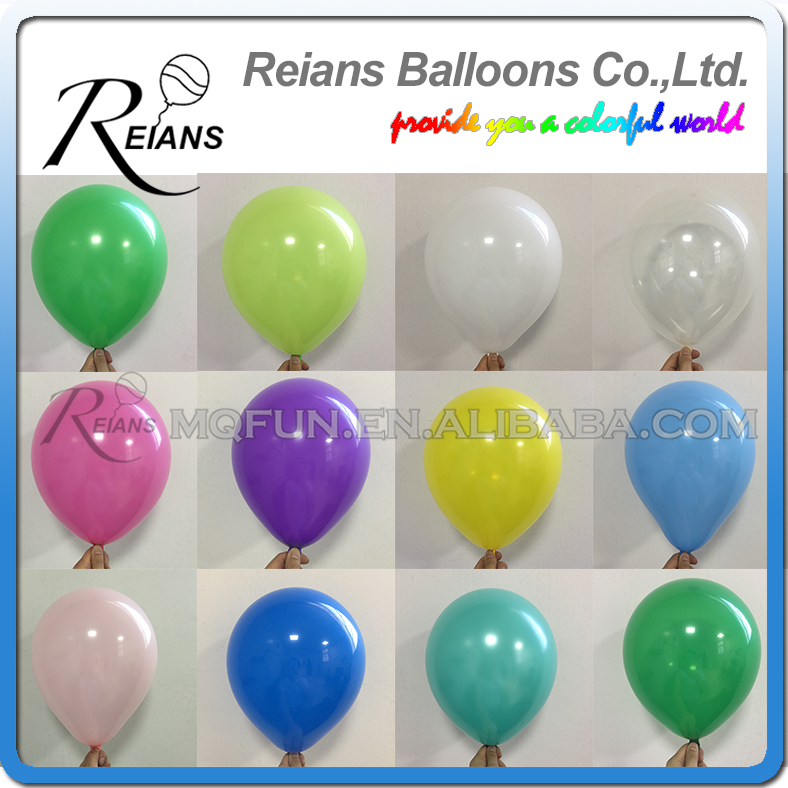 Wholesales 1000pc 10 Inch 2 2g Birthday Wedding Supply Latex Balloons Colorful Party Latex Air Baloon