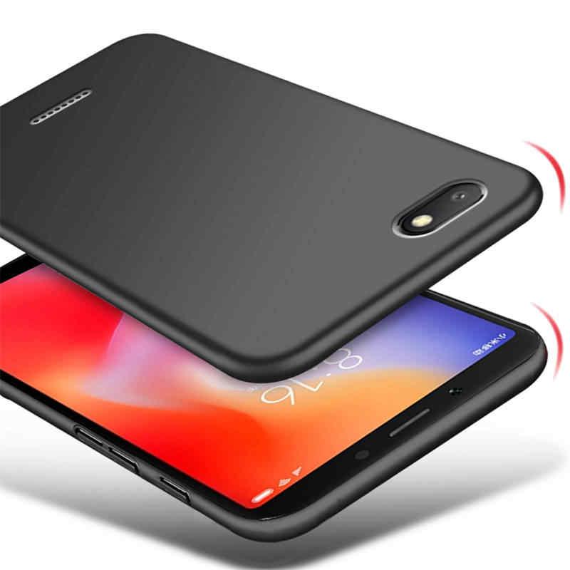 Telefon obudowa do Xiaomi Redmi 6a 6 a twarda plastikowa pokrywa matowy Slim zderzak obudowa do Xiaomi Redmi 6a a6 smartfon obudowa Funda