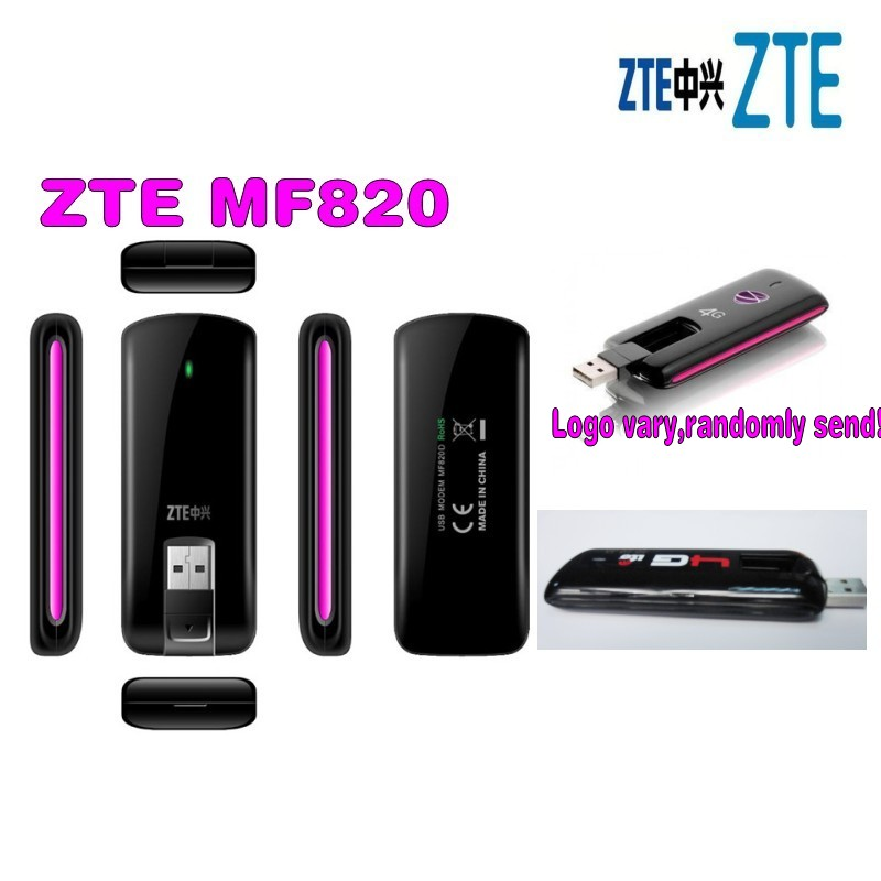 ⑤zte mf820 1800/2100/2600mhz fdd wireless usb lte 4g dongle a865.
