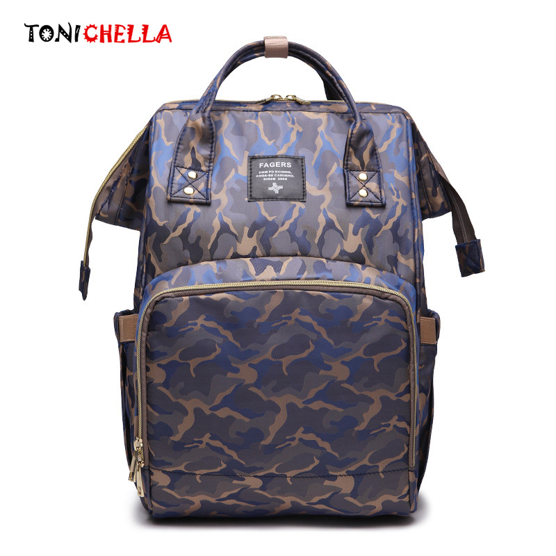 Mummy Diaper Bag Multifunction Large Capacity Travel Camouflage Backpack Nursing Baby Care Stroller Waterproof Ny Bags Cl5505