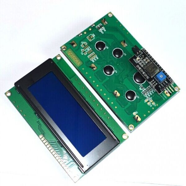 5PCS LCD2004 I2C 2004 20x4 2004A blue screen HD44780 for Character LCD w IIC I2C Serial