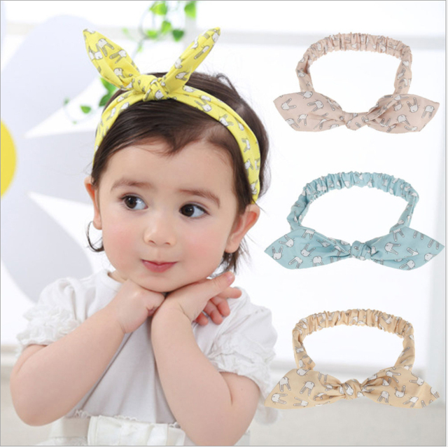 Fashion Kids Baby Girl Cute Ear Supreme Headband Bebe Toddler Infant  Headbands Girls Hair Band Accessories Photography Props e8b27357ddc
