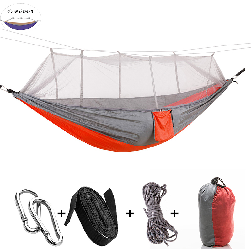 Double, Camping, Travel, Hammock, Outdoor, Mixed