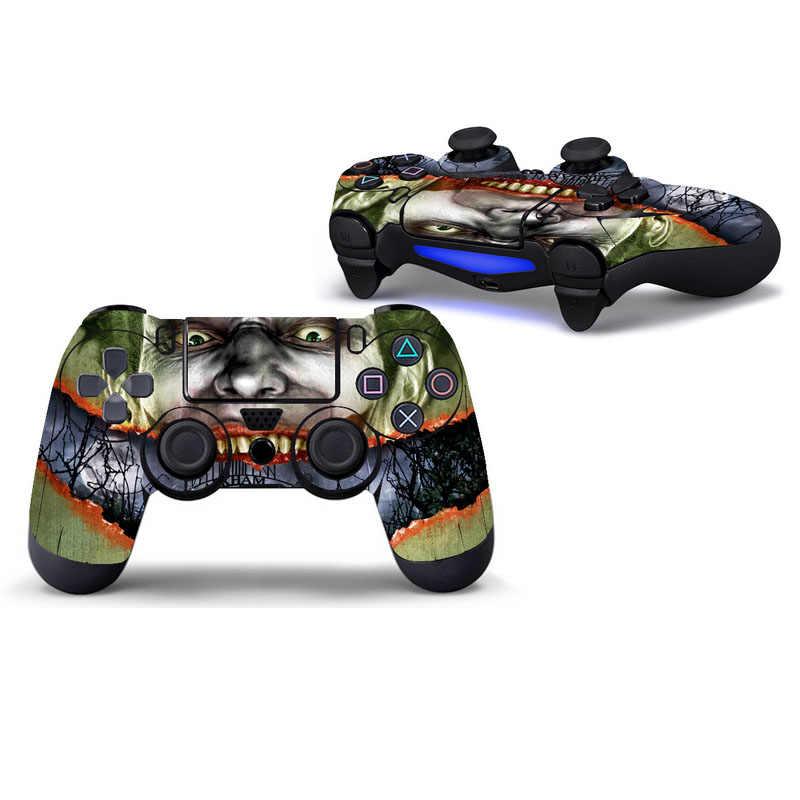 Joker ochronna naklejka na pokrywę dla PS4 skórka na kontroler dla konsoli Playstation 4 naklejka akcesoria