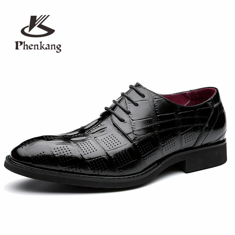 Men flats leather shoes luxury business Crocodile pattern green lace up Dress Shoe men large size Wedding Shoes A3011 men genuine flats leather shoes luxury business brown black lace up dress shoe men large size wedding shoes 899