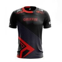 2019 LOL LCK Griffin Fans T shirt Men Women T shirts GRF Team Custom ID Tee Shirt Homme