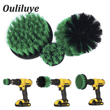 3pcs/set Power Scrubber Brush Cordless Tile for Bathroom Toilet Cleaning Drill Tool Cleaner Gadget Spin Household