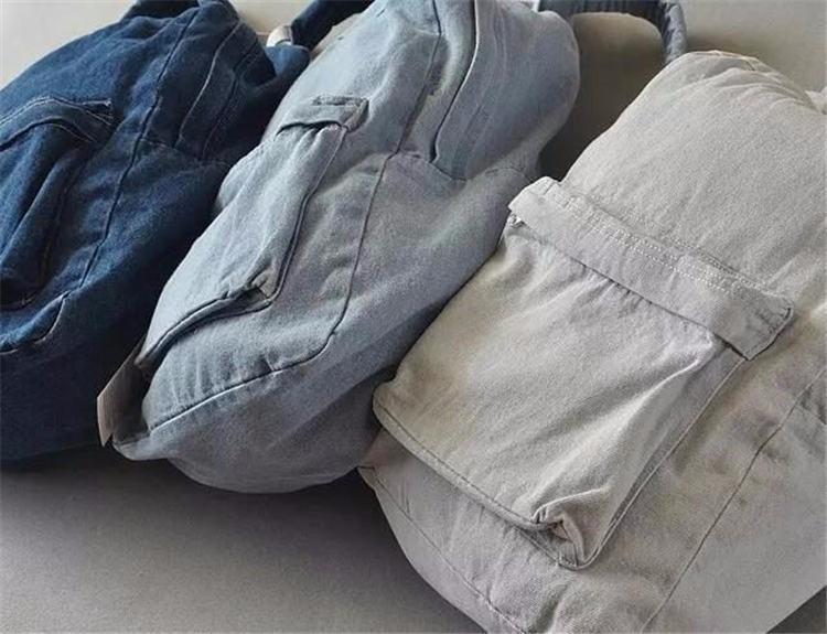 HTB1X6kBKpXXXXXgXVXXq6xXFXXXg - Denim backpack school bags for girls deep blue and light blue