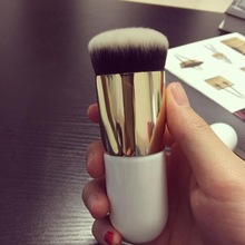 1PC Chubby Pier Foundation Brush Flat Cream Makeup Brushes Professional Cosmetic Make-up