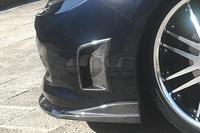 Углеродное волокно CS Стиль боковые отверстия подходят для 2008 2010 Subaru Impreza GRB STI хэтчбек передний бампер oem