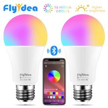 Wireless Bluetooth4.0 Smart Bulb LED Magic RGBW Home Lighting Lamp 10W E27 Color Change Dimmable AC85-265V Apply to IOS /Android milight 2 4g wireless e27 6w rgbw led spotlight dimmable bulb lamp 86 265v