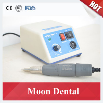 Dental Lab Micromotor South Korea Saeyang Marathon ESCORT-III Micromotor with 3500RPM H35SP1 Handpiece for Polishing and Carving