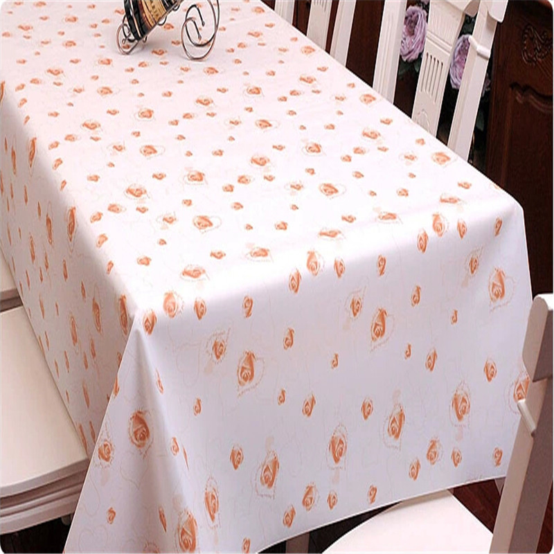 Printed Plastic Tablecloths Easypainting Co
