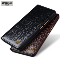 Top Grade Cow Leather Case For Xiaomi Redmi Note 4X Business Flip Phone Protective Skin Ultra