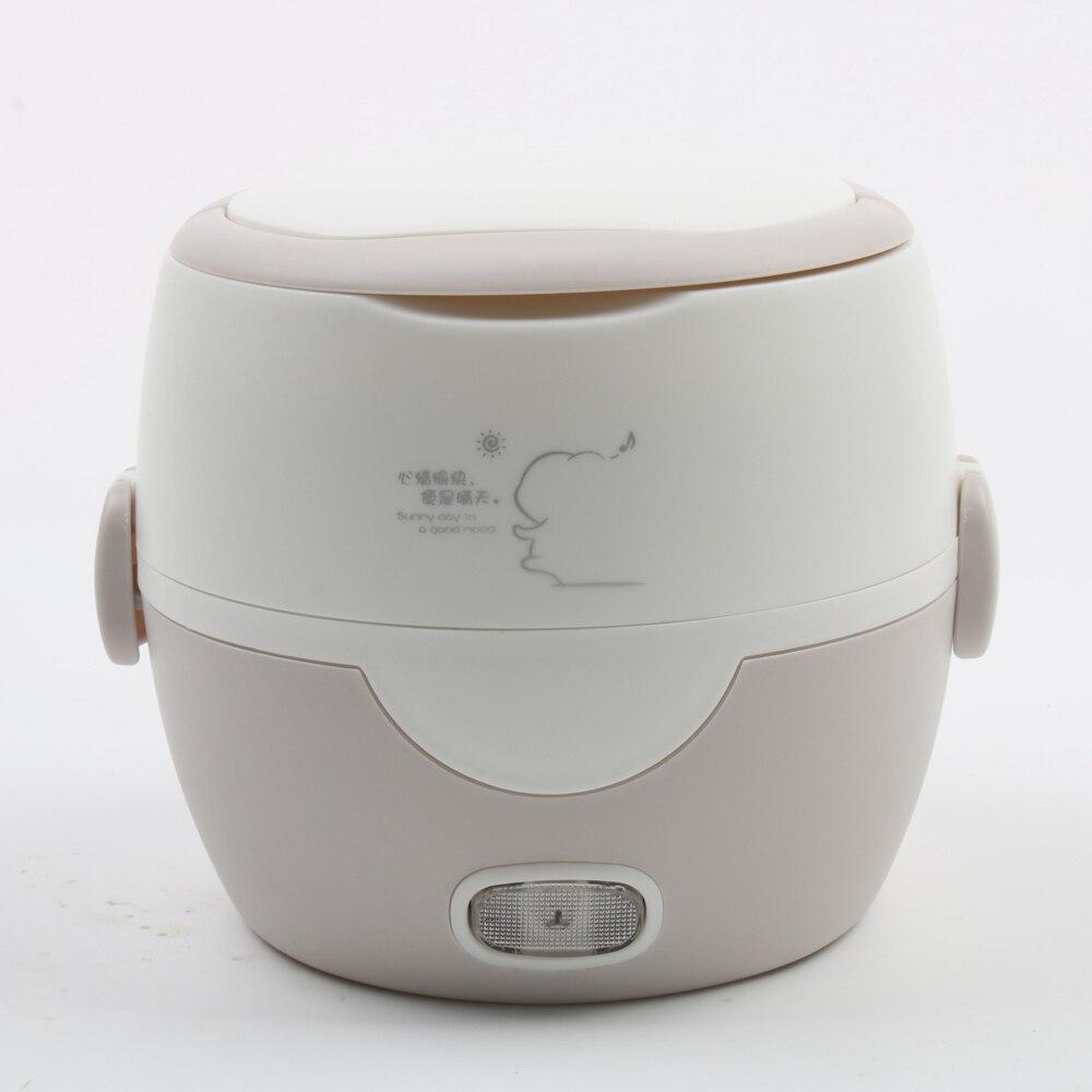 DMWD 1L Multifonctionnel Mini Cuisinière Électrique Bureau Chauffage Déjeuner Boîte Personnelle Chauffe-Alimentaire Ragoût Soupe Pot Cuiseur À Riz 220 v