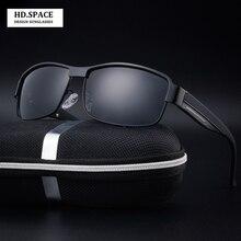 HD.space HD Men's polarized sunglasses classic Fishing glasse UV400 driving glasses lunettes de soleil homme sun glasses for men