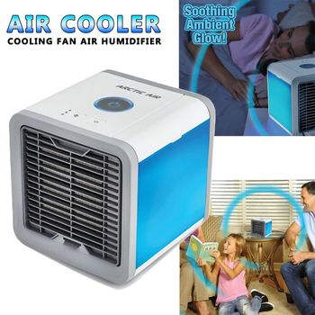 Artic Air Cooler Small Air Conditioning Appliances Mini Arctic Air personal space Cooler Fans Air Cooling Fan mini portable air conditioning