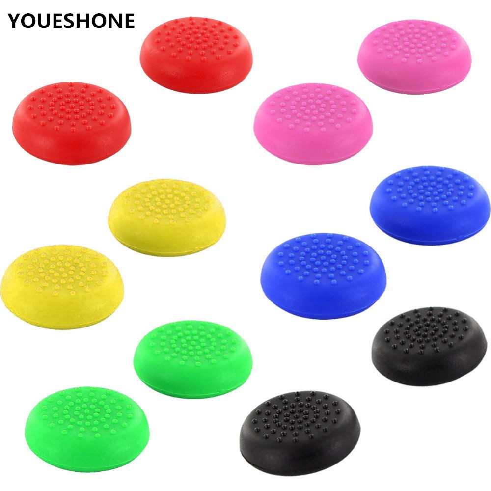 4X TPU Thumbstick Joystick Grip Case Cap Cover For PS4/PS3/ Xbox One/xbox 360 Controller