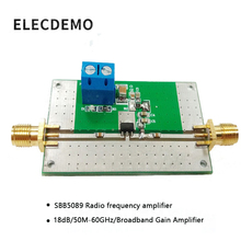 SBB5089 Module RF Versterker Eindversterker 50 M 6 GHz Breedband 20dB Gain Functie demo Board
