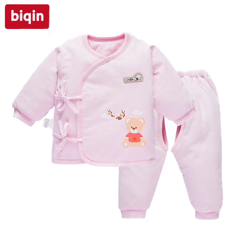 Biqin NB-3T newbaby baby children kids clothing boys girls Spring Autunm rompers Baby Warm Long Suit Long Coat WL-5468