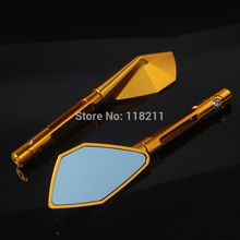 Free shipping Motorcycle mirror CNC Tomok L&R Rear Side Mirrors Street Bike Free shipping