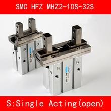 цена на HFZ MHZ2 10S 16S 20S 25S 32S Single Acting Normally Open Mini Grippers Pneumatic Finger Cylinder SMC Type Aluminium Clamps