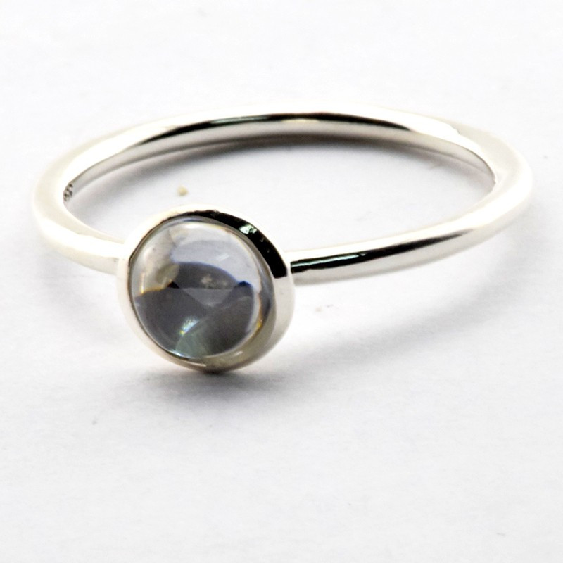 327f28f0f Sterling-Sliver Rings Silver Poetic Droplet Ring Whit CZ Clear Cz Ring ...