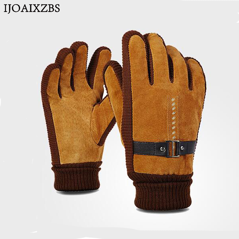Men Women Lovers Winter Gloves Velet Luxury Leather Moto Guantes PU Patchwork Thick Gloves Male Motocicleta Thermal Warm Gloves hot sale motorcycle gloves motorbike moto luvas motociclismo para guantes motocross 01c motociclista women men racing gloves